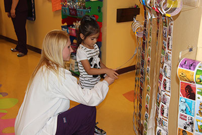 Sticker wall - Pediatric Dentist in Newbury Park, CA