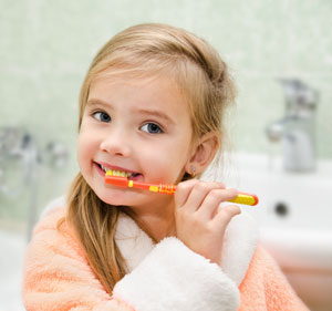 Brushing Teeth - Pediatric Dentist in Newbury Park, CA